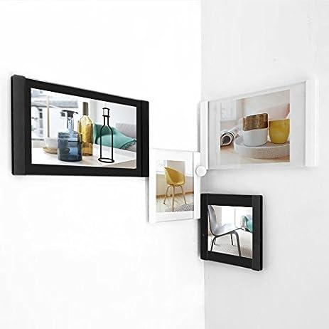 Amazon.com - LEGGY HORSE Black White Combination DIY Picture Frames ...