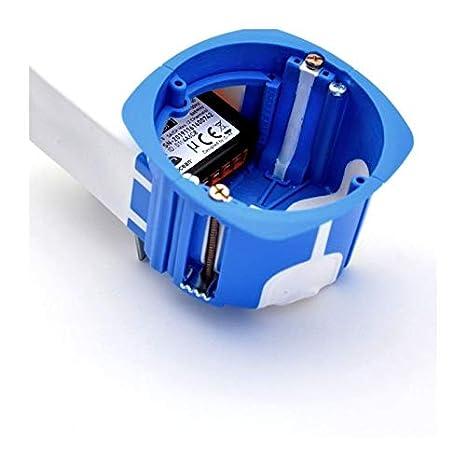BLM Lote de 5/cajas de empotrar con compartimento para Microm/ódulo