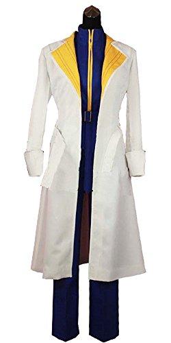 Onecos Rurouni Kenshin Shinomori Aoshi Uniform Cosplay Costume ()
