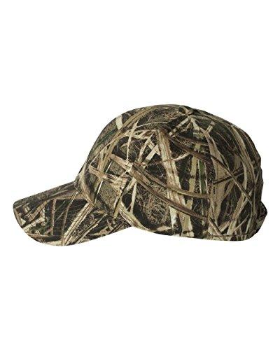 [Mossy Oak Adjustable Closure Blank Cap, Mossy Oak Shadow Grass Blades Camo] (Mossy Oak Shadow Grass Hat)