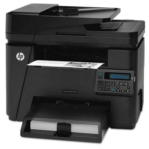 (HP CF484A LaserJet Pro MFP M225DN Multifunction Laser Printer, Copy/Fax/Print/Scan)