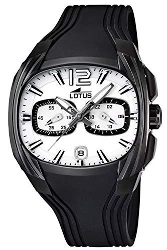 Lotus Doom Mens Analog Quartz Watch with Rubber Bracelet 15757/A