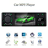 Honboom 2019 New Designed 4.1' TFT 1080P Touch Screen Bluetooth Car Stereo Receiver FM Radio Car MP5 / MP4 / MP3 Player with Real-time Temperature Display, Supports USB / SD / AUX-in, Remote Control