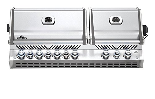 Napoleon Grills Built-in Prestige PRO 825 with Infrared Rear and Bottom Burners Propane Gas Grill