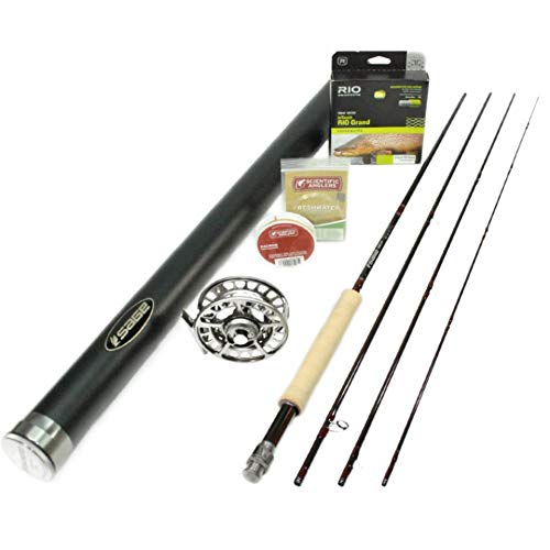 Loomis G Asquith 590-4 Global All Water Fly Rod Outfit : 5wt 9'0