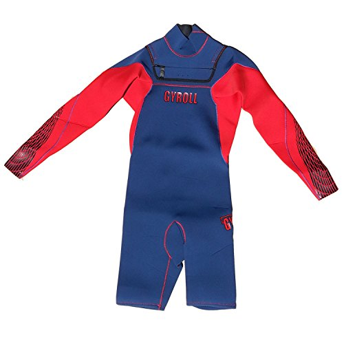 Mike Stewart Gyroll 2013 Spring LS 2MM - Navy / Red - Small by Gyroll