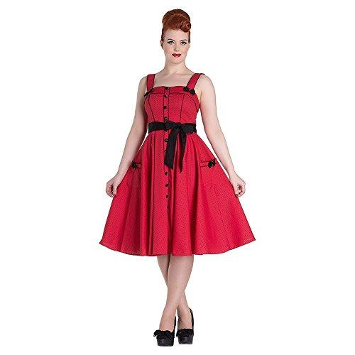 Hell Rot Bunny Rot Damen Kleid wf6xSqfY