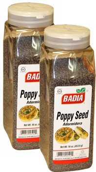 Badia Poppy Seed 16 oz Pack of 2