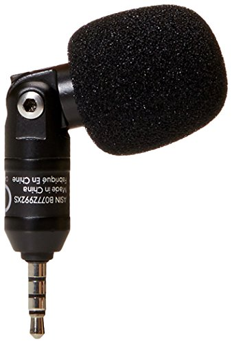 AmazonBasics Condenser Microphone for Smartphones