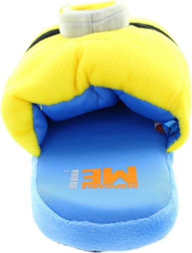 Despicable Me  Minion 3d, Chaussons pour homme Jaune jaune