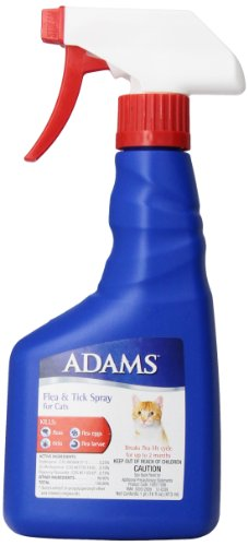 Adams Flea and Tick Spray for Cats, 16 Oz Adams Flea Tick Spray