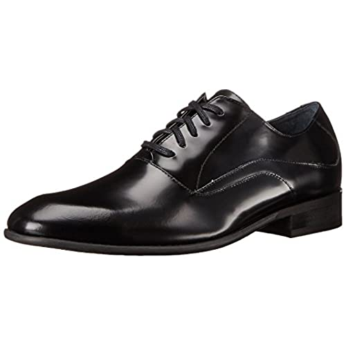 60%OFF Calvin Klein Men's Von Soft Box Leather Oxford Shoe