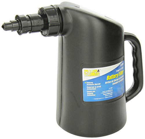 Plews LubriMatic 75-030 2-Quart Professional Battery Filler with Automatic Shut Off - Makes Battery Top-Off Easy and Safe