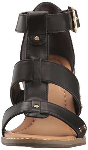 Proud Scholl's Dr Gladiator Women's Black Shoes Sandal wgnSn76vq