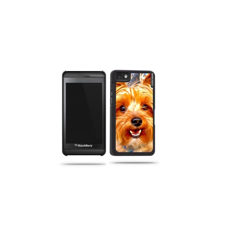 Yorkshire Terrier Yorkie Dog Closeup Blackberry Z10 Case   For Blackberry Z10