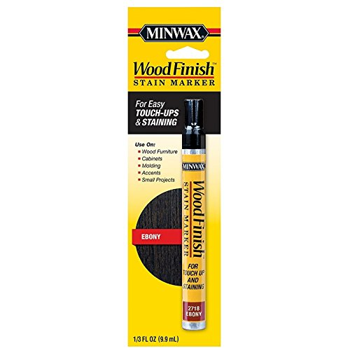 Minwax 634900000 Wood Finish Stain Marker, Ebony - Ebony Finish