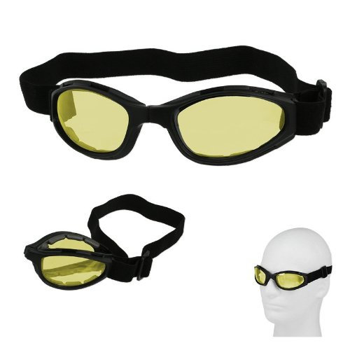 Folding-Biking-Goggles-with-Padding-Adjustable-Strap-Choose-from-3-Colors