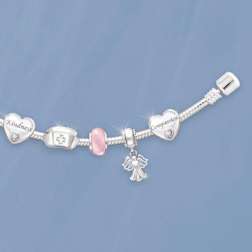 A Nurse's Heart Charm Bracelet by The Bradford Exchange by Bradford Exchange (Image #3)