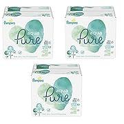 Pampers Aqua Pure 6X Pop-Top Sensitive Water Baby Wipes, 1008 Count