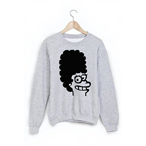 Sweat-Shirt imprimé cartoon ref 1877 - L
