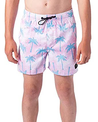 Rip Curl Kids Pool Party Volley - BOY, Pink, 10
