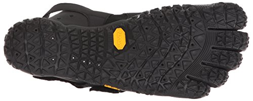 Vibram Men's V-Aqua Black Walking Shoe, 9-9.5 M US