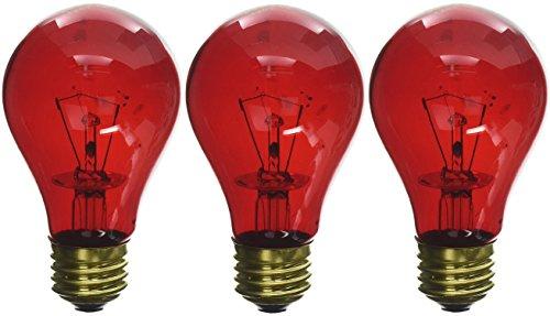 Flukers Red Heat Bulbs - Fluker's 3 Pack of Red Heat Bulbs for Reptiles, 40 watt