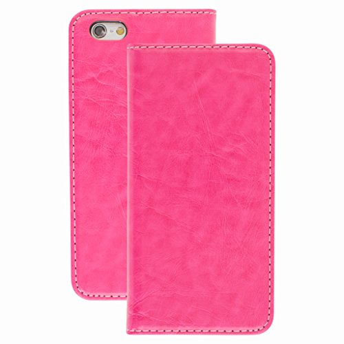 Quality Style Apple iphone 6s Case cover, Apple iPhone 6s Hot Pink Designer Style Wallet Case Cover