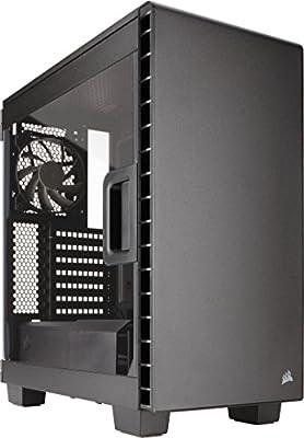 Corsair Carbide 400C - Caja de PC, Mid-Tower ATX, Ventana Lateral ...