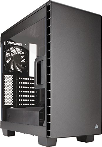 Ultra Quiet Fan Panel (CORSAIR CARBIDE 400C Compact Mid-Tower Case, Window Side Panel - Black)