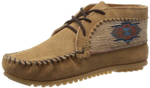 Minnetonka Womens El Paso Ankle Boot - Taupe