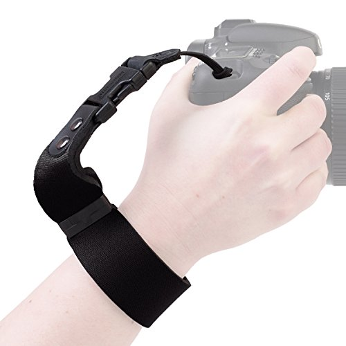 OP/TECH USA 6701062 SLR Wrist Strap (Black)
