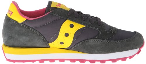 Women's Yellow Original Saucony Jazz Sneaker Charcoal Originals 5zxTwqv
