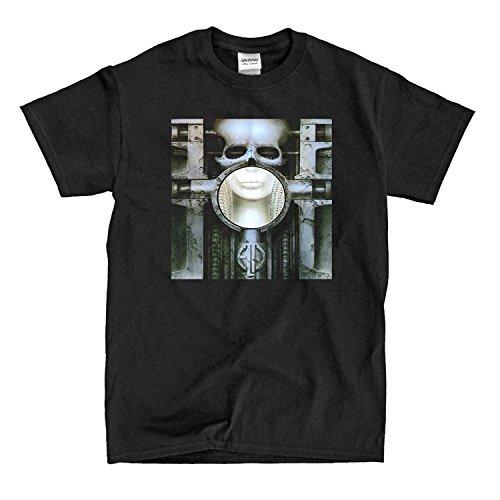 Emerson Lake and Palmer - Brain Salad Surgery - Black T-Shirt (xl) (Emerson Shirt Black)