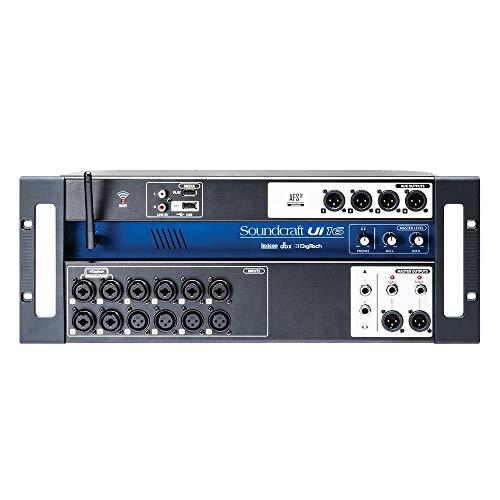 Mesa de Som 16 Canais Ui-16 Soundcraft, Soundcraft, Ui-16