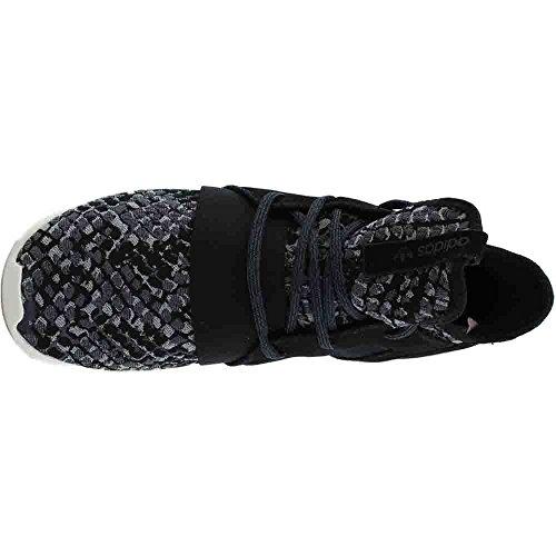 Adidas Tubular Defiant W # Bb5122 Nucleo Nero / Nucleo Nero / Bianco Gesso