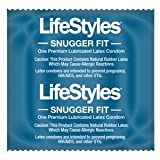 Ansell 5200 Condom, Lubricated, Snugger Fit (Pack of 1000)