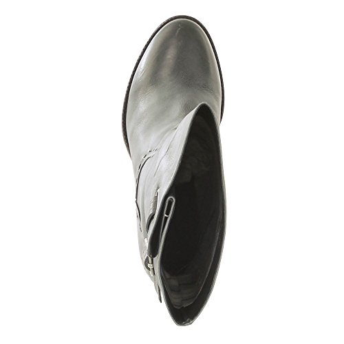 Bugatti–Botas de piel mujer Lore gris tacón Altura 8,5cm, forrado Gris - gris