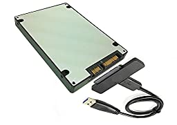 Sintech NGFF M.2 BM Key SSD to SATA 3 Adapter Card Case with USB 3.0 SATA Cable