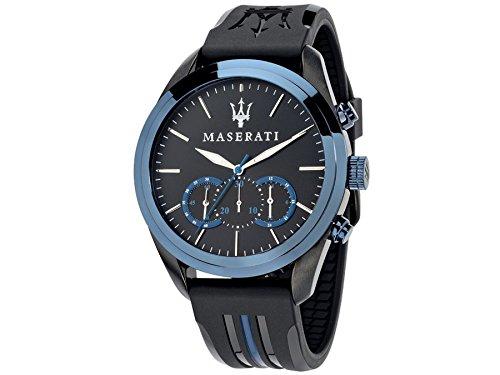 Maserati watch R8871612006 Black Chronograph Rubber Man