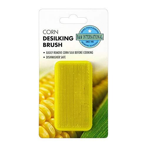 R & M International 3607 Corn De-Silking Brush, One Size, Green, Yellow