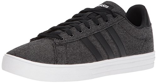 Men Cheap Sneakers - adidas Men's Daily 2.0 Sneaker, Black/White, 12 M US