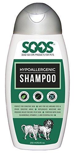 Soos Hypoallergenic Dead Sea Pet Shampoo (250 mL)