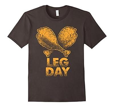 Leg Day T-Shirt | Funny Thanksgiving Turkey Tee