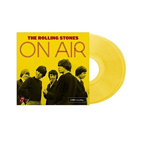 The Rolling Stones - On Air Exclusive Deluxe Limited Edition Yellow Vinyl 2X LP