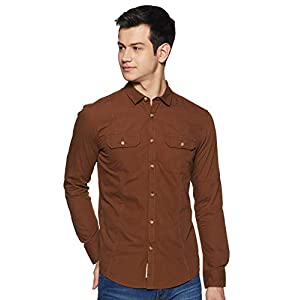 Amazon Brand – Inkast Denim Co. Men's Slim Fit Casual Shirts