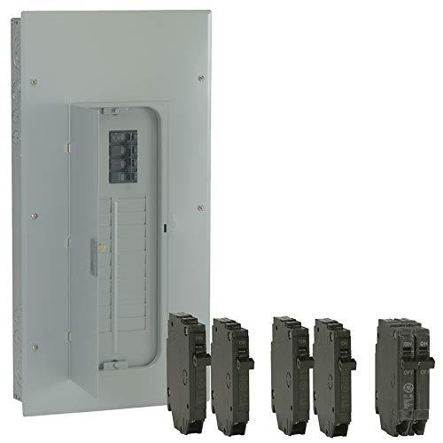 GE 40-Circuit 20-Space 200-Amp Main Breaker Load Center (Value Pack)