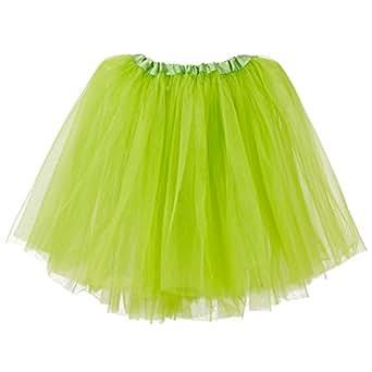 My Lello Little Girls Tutu 3-Layer Ballerina Apple Green (10 mo - 3T)