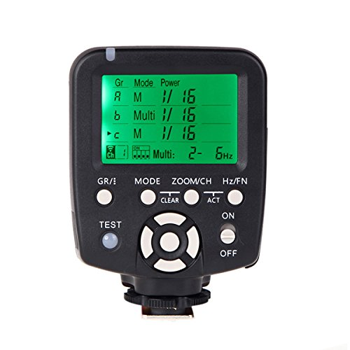 Yongnuo YN560-TX 16 Wireless Channel Manual Flash Controller for Canon Cameras, 328.08' Transmission Range, FSK 2.4 GHz Frequency by YONGNUO
