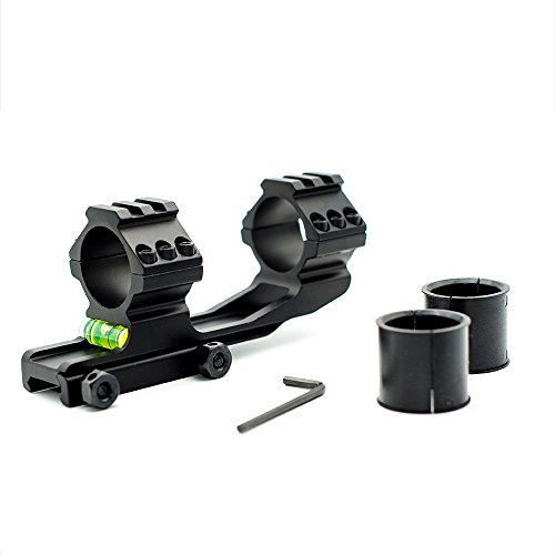 Dasen One-Piece Scope Mount with Bubble Level for 1 inch /30mm Diameter Riflescopes